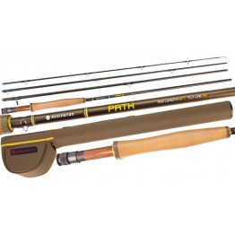 "Redington Path 586-4 8'6"" 4 Piece #5 Fly Rod Reel & Line Set"
