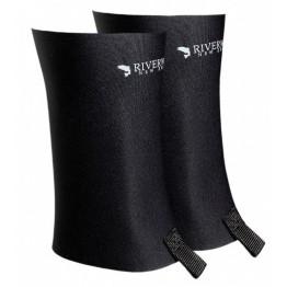 Riverworks Gravel Guard Gaiters - Zips- Black
