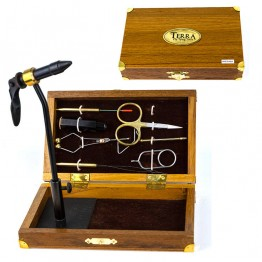 "Fly Tying Kit in Box ""Royal Coachman"""