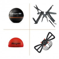 Deeper PRO+ Smart Fish Finder Special Pack - Gerber Multi Tool & Accessories