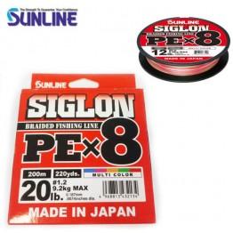Sunline Siglon PEX8 Multicolour Braid