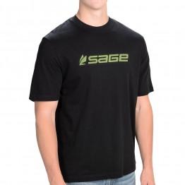 Sage Logo T-Shirt Black