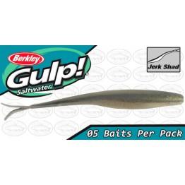 "Berkley Gulp Saltwater Jerk Shad 5"" Sardine Softbait"
