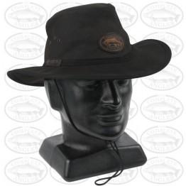 Selke Complete Angler Oilskin Brown Hat