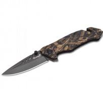 "Summit Gear 3.3"" Pocket Knife Brown Camo"