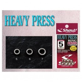 Shout Heavy Press / Solid Ring Size 5
