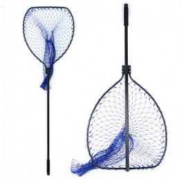 Net Factory Boat 4' Retractable Handle Landing Net