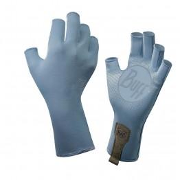 Buff Water Fishing Gloves - Glacier Blue