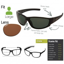 "Spotters ""Cristo"" Fishing Glasses ""Penetrator"" Lens Medium Fit"