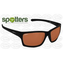 "Spotters ""Grit"" Black Matte Sunglasses & Polarised Photochromic Penetrator Lens"