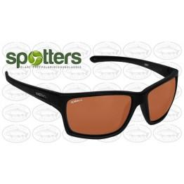 """Spotters """"Grit"""" Black Matte Sunglasses & Polarised Photochromic Penetrator Lens"""