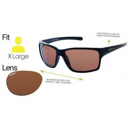 """Spotters """"Grit"""" Black Gloss Sunglasses & Polarised Photochromic Penetrator Lens"""