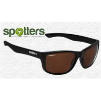 "Spotters ""Rebel"" Black Gloss Frame Halide Lens Crown Glass"