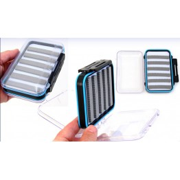 Double Sided Transparent Fly Box Med