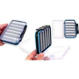 Stalker Tackle Waterproof Transparent Fly Box Large