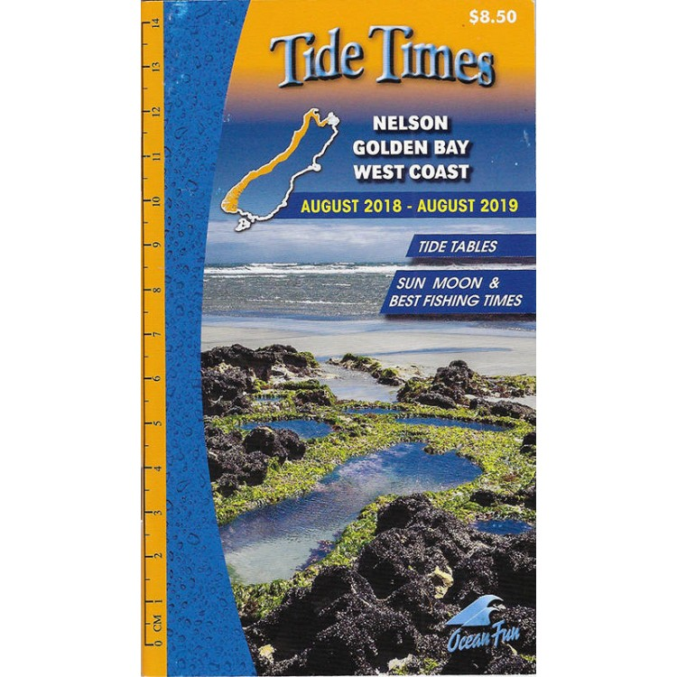 Buy Ocean Fun Tide Times Nelson Golden Bay And West Coast