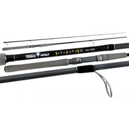 """Timber Wolf Nano 3 7526 7'5"""" 2 Piece 4-6kg Rod"""
