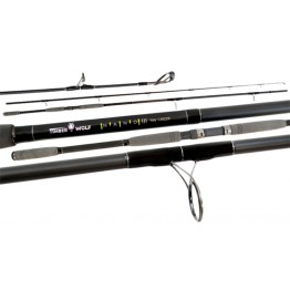 Timber Wolf Nano 3 Surf Synergy 100220 10' 2 Piece 8-20kg Surf Rod