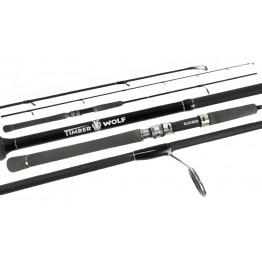 "Timber Wolf Nano IV 702SML 7'0"" 2 Piece 8-12lb Spin Rod"