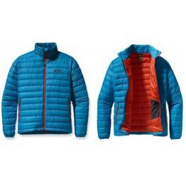 Patagonia Men's Down Sweater Hoody - Blue