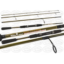 Timber Wolf  Nano Travel 8' 4 Piece Rod - Ideal Canals