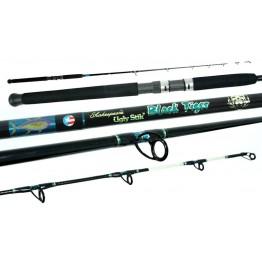 Ugly Stik Black Tiger 6' 10-15kg 1 Piece Boat Rod