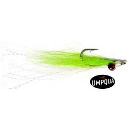 Clouser Chartreuse White - Salt Fly