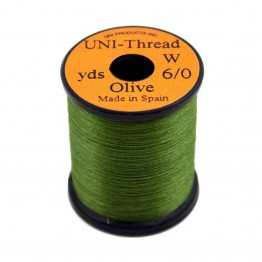 Uni Thread #8/0 Olive 200yd