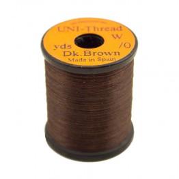 Uni Thread #6/0 Dark Brown