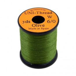 Uni Thread #8/0 Olive 200yd