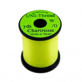 Uni Thread 6/0 200yd Waxed Chartreuse