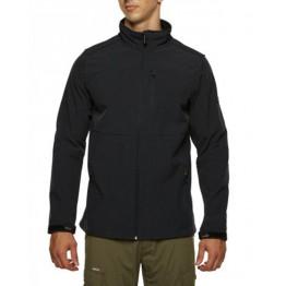 Vigilante Vortex Men's Softshell Jacket - Black
