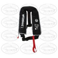 Watersnake PFD Inflatable Life Jacket 150 Adult (40kg+) - Black