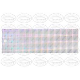 Witchcraft Prism Tape 15.5cm - Mini Plaid Silver  #121