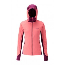 RAB Alpha Flux Women's Fleece Jacket - Coral