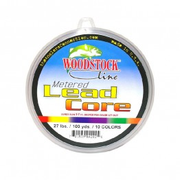 Lead Core Line Woodstock 100yds 27lbs Made in USA